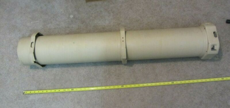military surplus metal tube cannister storage for gun or ammo or supplies bury