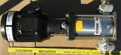 Grundfos Vertical Pump Crn 4-60 A-p-g-auuv 3 Phase 2 Hp Water Etc