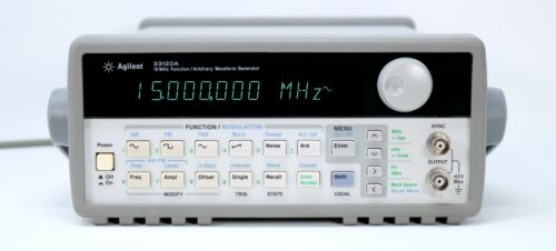 HP / Agilent 33120A 15 MHz Function / Arbitrary Waveform Generator. Very clean