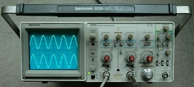 Tektronix 2235 100mhz Two Channel Oscilloscope Calibrated 2 Probes Sn B027661