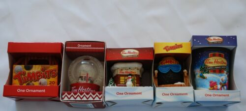 Lot of 5 Tim Horton