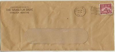 1963 Hamilton Missouri 10Ct Independence Hall Solo Sc 1044   Bank Cover