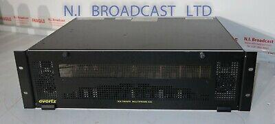 Evertz Xx 7800fr Frame With 2xpsu 3x 3g Time Code Generators Processors 4x