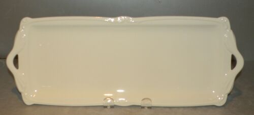NEW Oblong Serving Tray   Rocaille Pattern GIEN France