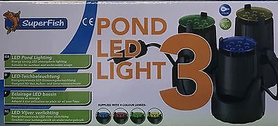 Superfish Teich LED Light 3 (06070205)