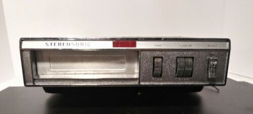 Vintage Stereosonic Under Dash 8-Track Player Parts Or Repair - $19.99