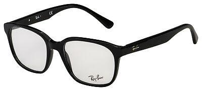 Ray-Ban Eyeglasses RX 5340 2000 53 Polished Black Frame [53-18-145]