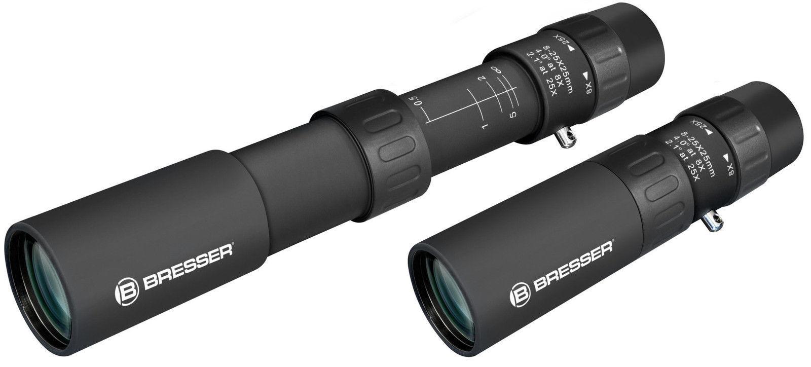 BRESSER Zoomar 8-25x25 Zoom-Monokular Spektiv Fernglas  extrem scharf und führig