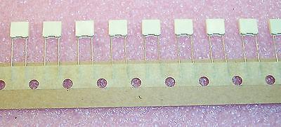 Qty 100 .12uf 63v 5 Metallized Polyester Film R82dc3120j Arcotronics