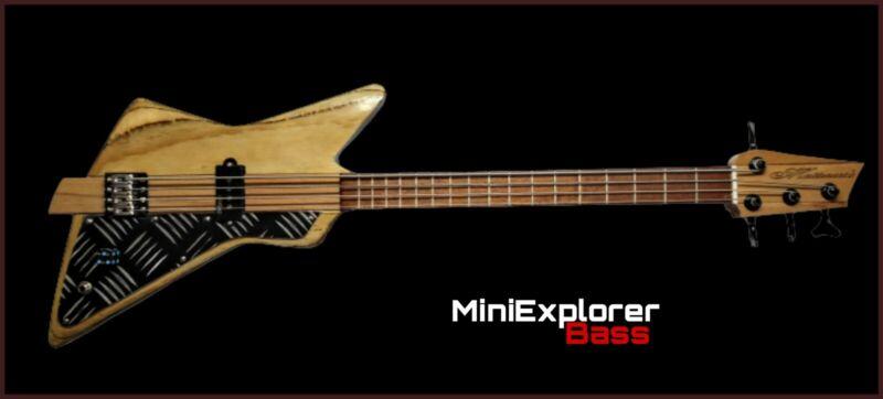 Mini Explorer bass Robert Matteacci' art & liutery