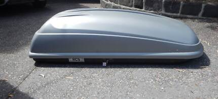 Thule Polar Roof Box luggage Car Pod Rack Capacity 50kg VGC