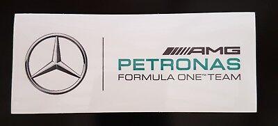 Used, AMG Petronas F1 Vinyl Sticker Mercedes Hamilton Team Schumacher for sale  Wisbech