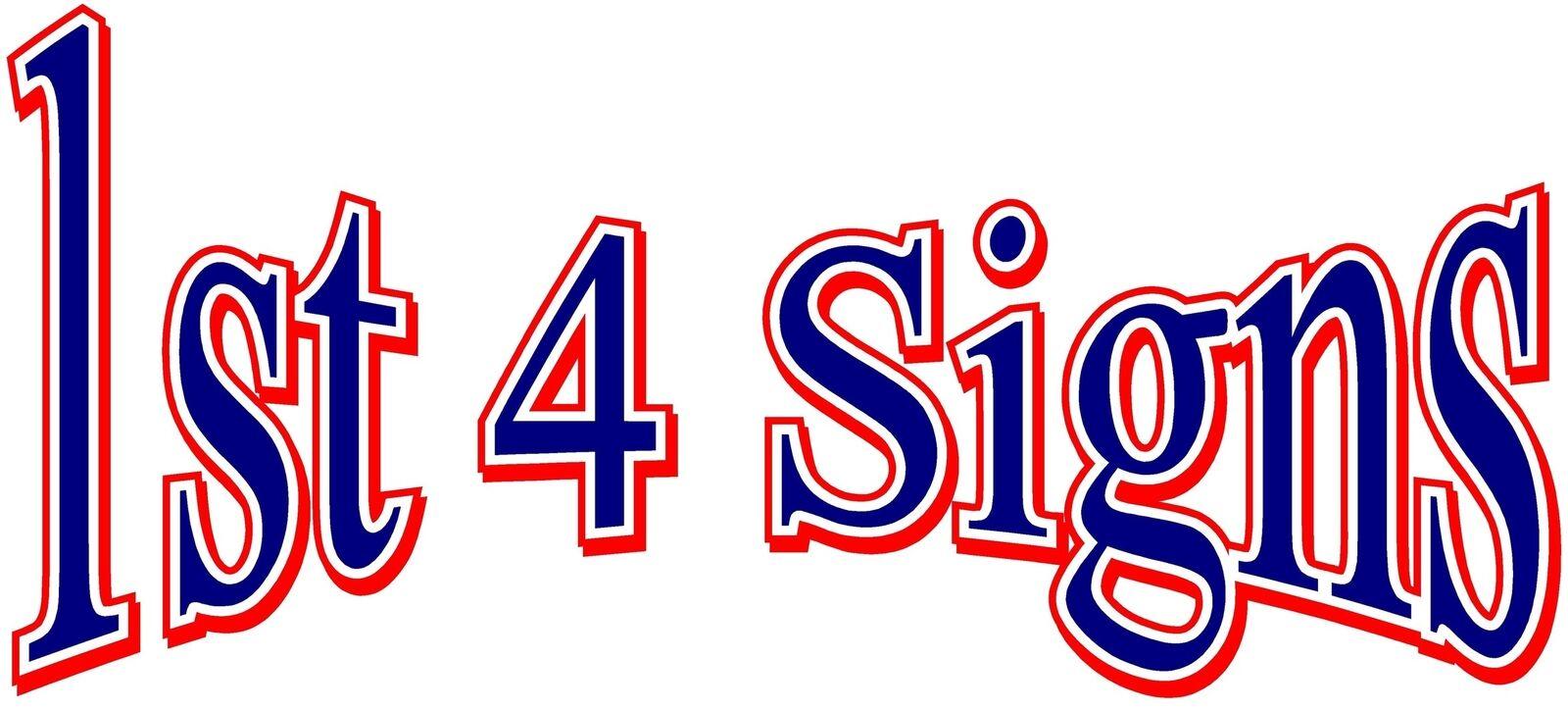 1st 4 Signs Ltd