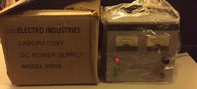 Electro Industriescentral Scientific Dc Power Supply Model 33032