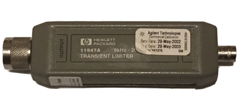Agilent Keysight 11947A Transient Limiter with High-Pass Filter 9khz-200MHz GOOD