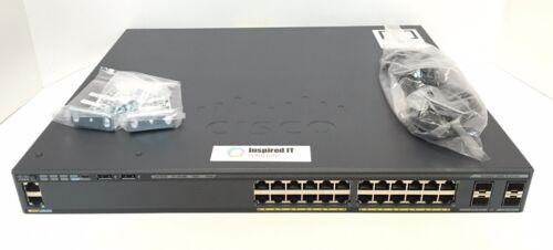 Ws-c2960x-24ps-l - Cisco Catalyst 2960x 24 Gige Poe 370w, 4 X 1g Sfp, Lan Base