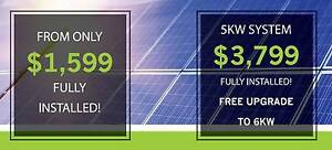 Install Solar! 5KW Solar System upgrade FREE to 6KW for just 3799 City Beach Cambridge Area Preview