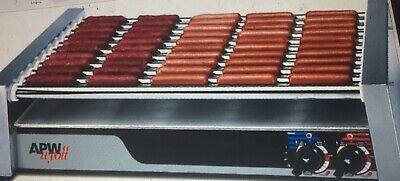 Apw Wyatt Hrs-75 5t 208240v Wtrue Turn Coat Hot Dog Roller Grill