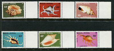 WALLIS & FUTUNA - 1984 'SEA SHELLS' Set of 6 MNH SG440-445 [A6488]