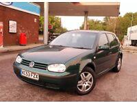 Volkswagen Golf 1.9 TDI 5dr Manual 53plate 12/2003 Long MOT FSH Perfect Bulletproof Car Drive Away