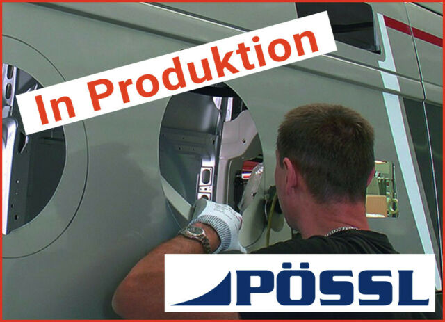 POESSL Campster 145PS *Standheizung*Turmalin-Rot*Xenon*