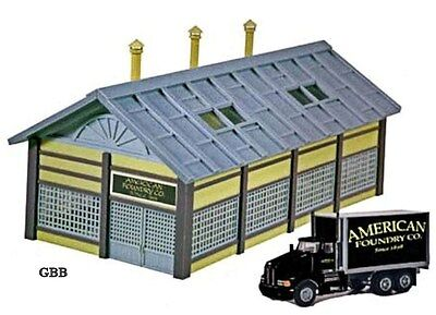 HO Scale AMERICAN FOUNDRY CO Built-up with DIE CAST TRUCK Model Power 771