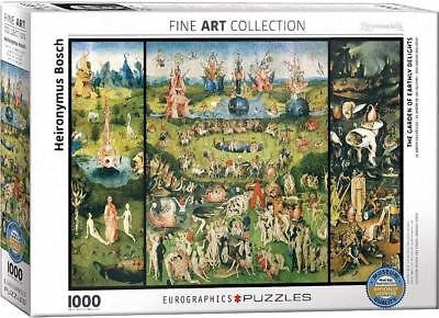 Garden Of Earthly Delights Jigsaw Puzzle, 26.5