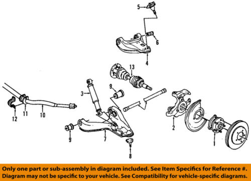 Engine: 4.2L, 5.3L 2005 For Chevrolet Trailblazer EXT Front Upper Suspension Ball Joint