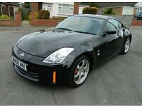 Nissan 350Z V6 GT Coupe 08 reg, Leather Seats, Warranty, P/X, Credit Cards & Finance Welcome