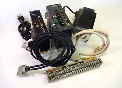 Vexta Mp401 Controller W Rkd514h-a 5-phase Drive Pk5913aw Step Motor Cables