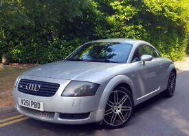 Audi TT 225 Coupe Quattro 51plate 1 year MOT 87k miles