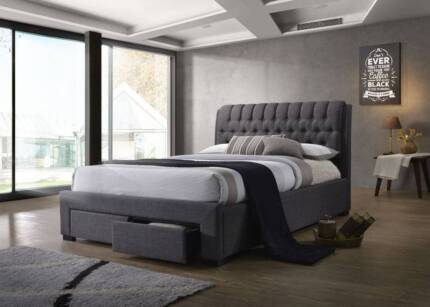 Cadillac / Echo King Queen size 2 drawer bed- Free Delivery!!!