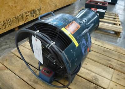 Coppus Mdl 250 Confined Space Tank W Manhole Ventilation Fan Blower Fresh Air
