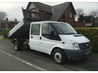 MAN AND VAN RUBBISH/WASTE COLLECTION 07391094711 ALL CLEARANCES FULLY PROFFESIONAL SAME DAY SEVICE.