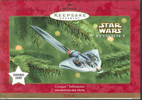"2000 STAR WARS Hallmark ""GUNGAN SUBMARINE"" Magic Ornament"