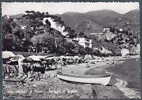 La Spezia Monterosso Al Mare 12 Spiaggia Fegina Cartolina Fotografica -  - ebay.it