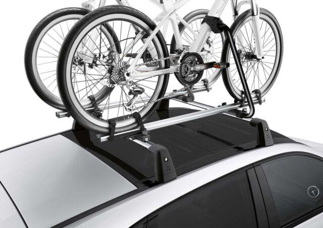 One genuine mercedes benz roof cycle rack a0008900293 ebay for Mercedes benz bike rack