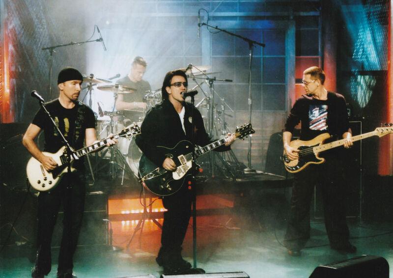 """U2""  5x7  Music Memorabilia * Bono FREE US SHIPPING"