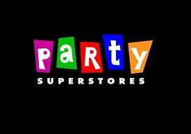 Sales Assistant required for Party Store in Sutton.