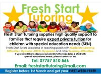 Fresh Start Tutoring - Expert Private SEN Tutoring (Nottingham, Nottinghamshire)