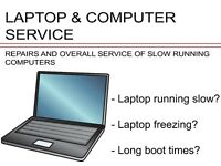 Laptop & Computer service - running slow? freezing? We can fix it!!!