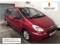 Citreon Xsara Picasso 1.6 Mpv 2 Owners Full Service History Low Mileage Air Con 3 Month Warranty