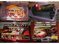 3 Complete Scalextric sets.