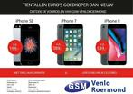 Refurbished iPhone SE, 6, 6S, 7, 8 en X met 2 jaar garantie