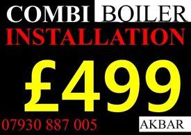 BOILER Installation, Replacement, SWAP Gas SAFE heating PLUMBING,MEGAFLO, Back boiler removed, BAXI