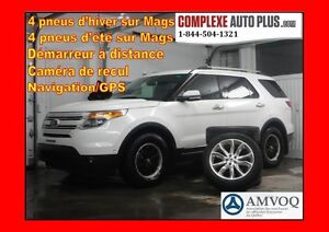 2011 Ford Explorer Limited 4x4 AWD *Navi/GPS/Cuir/Toit pano