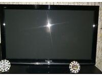 Panasonic TX-P42X10B 44'' HD Ready Plasma Television Entertainment Black