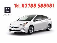 Rent a new shape Toyota Prius at £99/w Unlim mileage Uber Ola Bolt Ready PCO Car Taxi Mini Cab Hire