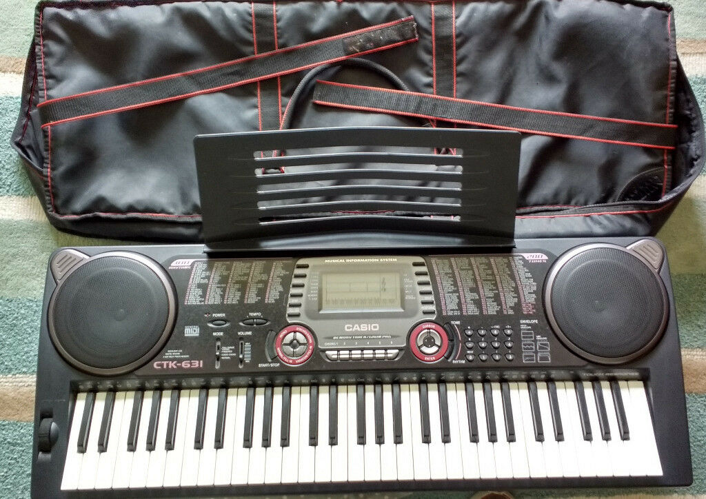 casio ctk 631 electronic keyboard in halesowen west midlands gumtree. Black Bedroom Furniture Sets. Home Design Ideas