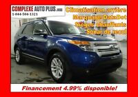 2013 Ford Explorer XLT V6 AWD 4x4 7 passagers